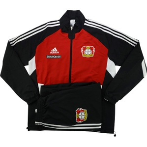 2011-12 Bayer Leverkusen Player Issue Woven Presentation Tracksuit (Excellent) L