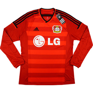 2014-15 Bayer Leverkusen Player Issue Home L/S Shirt *w/Tags*