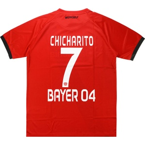 2016-17 Bayer Leverkusen Away Shirt Chicharito #7 *BNIB* BOYS