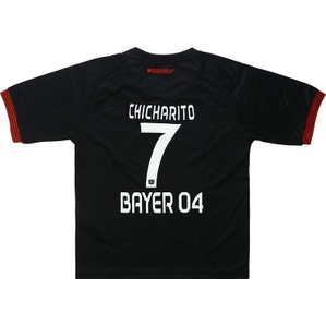 2016-17 Bayer Leverkusen Home Shirt & Shorts Kit Chicharito #7 *BNIB* BOYS