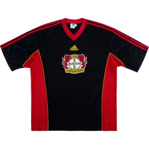 1998-99 Bayer Leverkusen Adidas Training Shirt (Excellent) XL