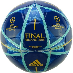 2016 Champions League Final Milan Capitano Replica Ball *In Box* 5