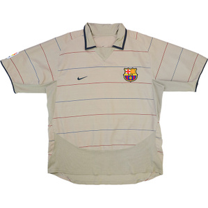 2003-05 Barcelona Away Shirt (Very Good) L