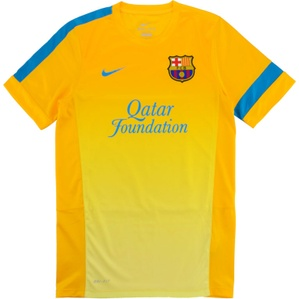 2012-13 Barcelona Nike Training Shirt (Excellent) S