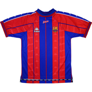 1997-98 Barcelona Home Shirt (Good) S