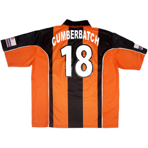 2003-04 Barnet Match Issue Home Shirt Cumberbatch #18
