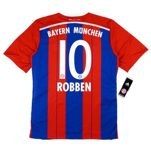 2014-15 Bayern Munich Home Shirt Robben #10 *w/Tags* XL