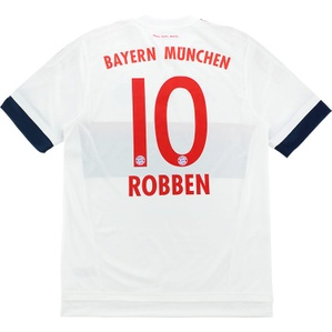 2015-16 Bayern Munich Adizero Player Issue Away Shirt Robben #10 *w/Tags*