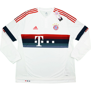 2015-16 Bayern Munich Adizero Player Issue Away L/S Shirt *w/Tags*