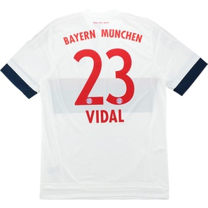 2015-16 Bayern Munich Adizero Player Issue Away Shirt Vidal #23 *w/Tags*