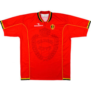 1997-98 Belgium Home Shirt (Excellent) L