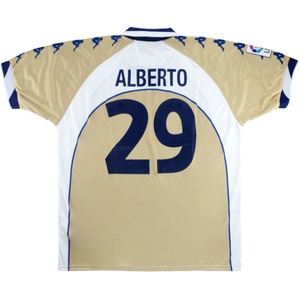 2000-01 Real Betis Player Issue Away Shirt Alberto #29 *As New* XL