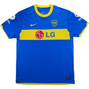 2011 Boca Juniors Home Shirt (Very Good) XL