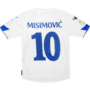 2013-14 Bosnia & Herzegovina Match Issue World Cup Qualifiers Away Shirt Misimović #10