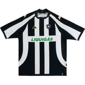 2007-08 Botafogo Home Shirt #10 (Lúcio Flávio) (Very Good) XL.Boys