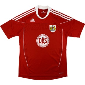 2010-11 Bristol City Home Shirt (Excellent) L.Boys