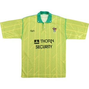 1990-92 Bristol City Away Shirt (Very Good) M