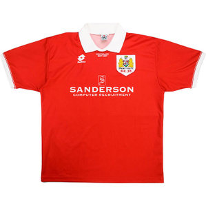 1996-97 Bristol City Centenary Home Shirt (Good) XXL