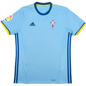 2016-17 Celta Vigo Home Shirt (Excellent) M