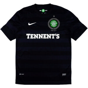 2012-13 Celtic '125th Anniversary' Away Shirt (Very Good) S