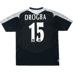 2004-05 Chelsea Away Shirt Drogba #15 (Excellent) M