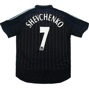 2006-07 Chelsea Third Shirt Shevchenko #7 (Very Good) L