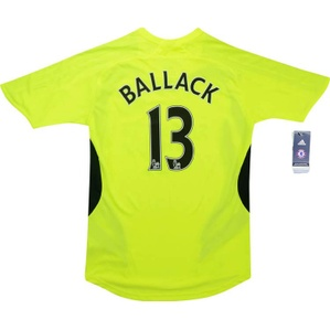 2007-08 Chelsea Away Shirt Ballack #13 *w/Tags* XS.Boys