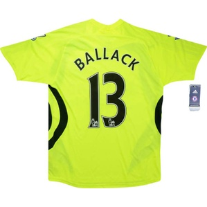 2007-08 Chelsea Away Shirt Ballack #13 *w/Tags* L.Boys