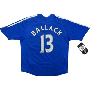 2006-08 Chelsea Home Shirt Ballack #13 *w/Tags* S.Boys