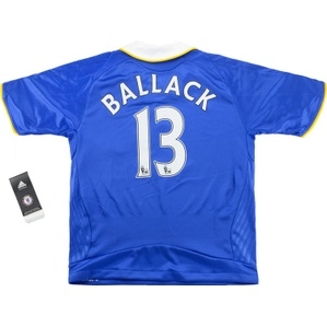 2008-09 Chelsea Home Shirt Ballack #13 *w/Tags* S.Boys