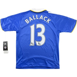 2008-09 Chelsea Home Shirt Ballack #13 *w/Tags* M.Boys