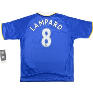 2008-09 Chelsea Home Shirt Lampard #8 *w/Tags* S.Boys