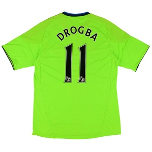 2010-11 Chelsea Third Shirt Drogba #11 *w/Tags* XL