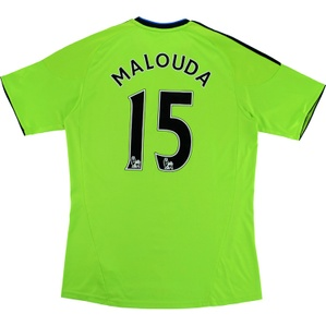 2010-11 Chelsea Third Shirt Malouda #15 (Very Good) M