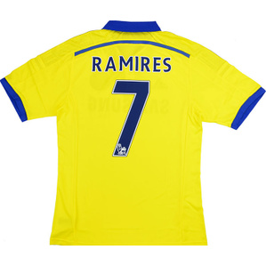 2014-15 Chelsea Player Issue Adizero Away Shirt Ramires #7 *w/Tags* L