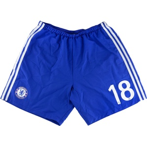 2014-15 Chelsea Match Issue CL Home Shorts #18 (Loïc Rémy) (Excellent) L