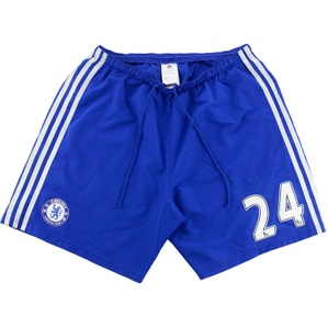 2014-15 Chelsea Match Issue Home Shorts #24 (Gary Cahill) (Good) L