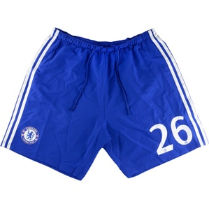 2014-15 Chelsea Match Issue CL Home Shorts #26 (John Terry) (Excellent) L