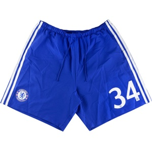 2014-15 Chelsea Player Issue CL Home Shorts #34 (Excellent) L