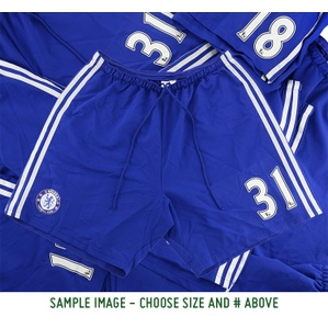 2014-15 Chelsea Match Issue Home # Shorts (Excellent)