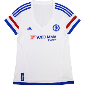 2015-16 Chelsea Away Shirt *As New* Womens