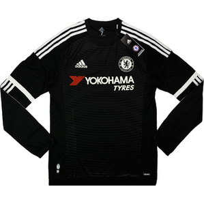2015-16 Chelsea Player Issue Adizero Third L/S Shirt *w/Tags*