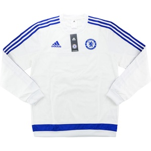 2015-16 Chelsea Adidas Training Sweat Top *BNIB* M