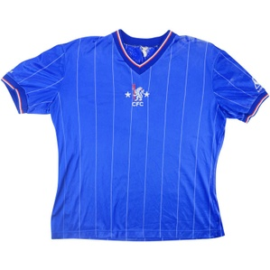 1981-83 Chelsea Home Shirt L.Boys