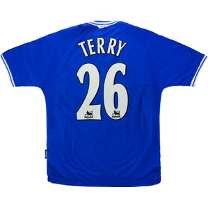 1999-00 Chelsea Home Shirt Terry #26 (Excellent) M
