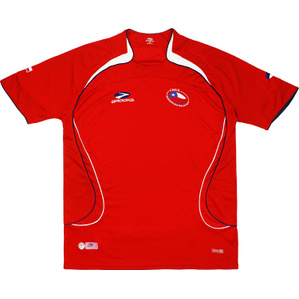 2007-09 Chile Home Shirt (Very Good) L