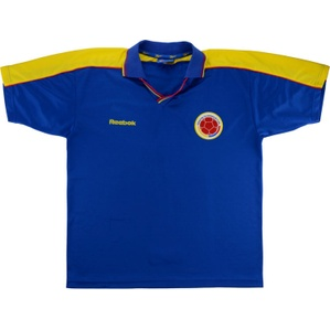 1998-01 Colombia Away Shirt (Good) L