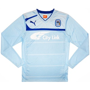 2012-13 Coventry Home L/S Shirt (Excellent) XL