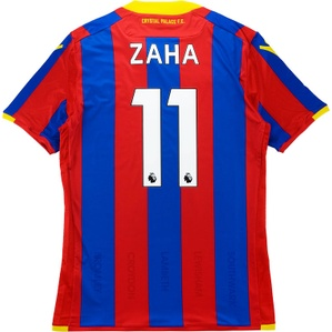 2017-18 Crystal Palace Player Issue Body Fit Home Shirt Zaha #11 *w/Tags*