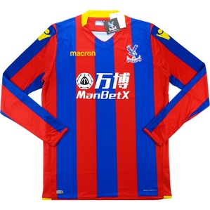 2017-18 Crystal Palace Home L/S Shirt *BNIB*